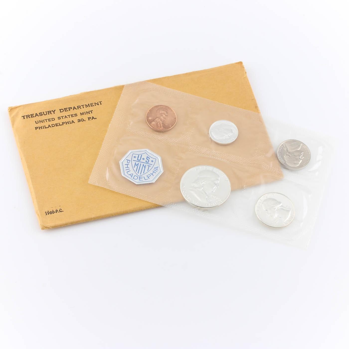 1960 U.S. Philadelphia Mint Proof Set