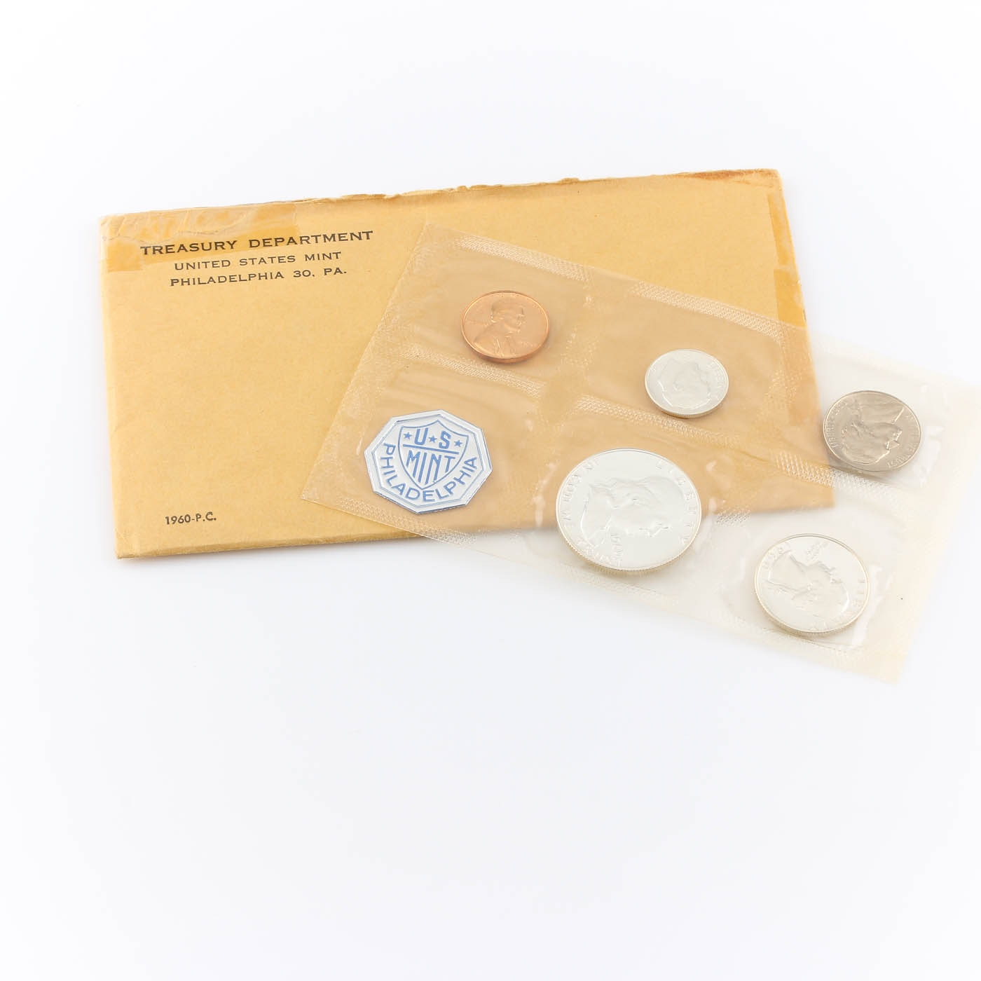 1960 U.S. Philadelphia Mint (Small Date) Proof Set