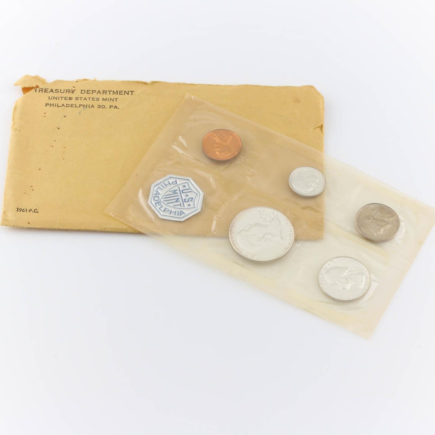 1961 U.S. Philadelphia Mint Proof Set