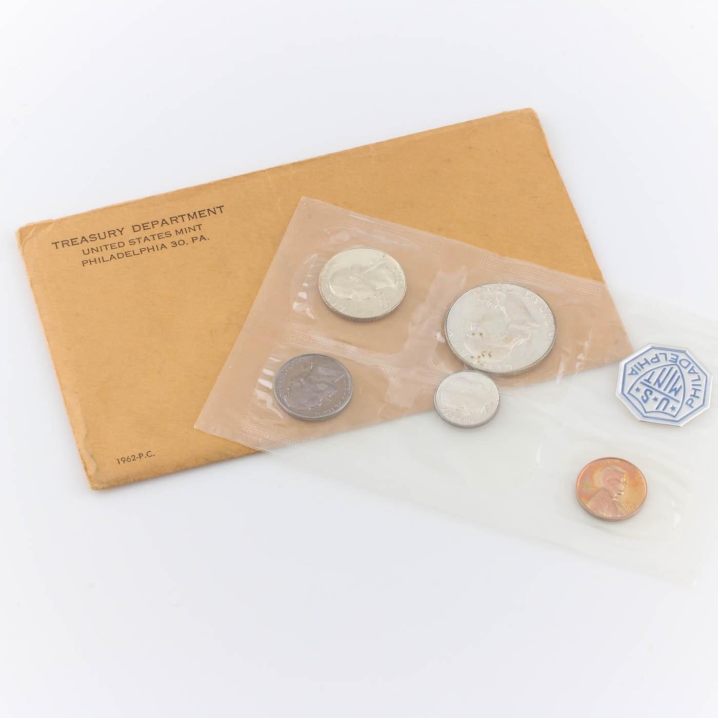 1962 U.S. Philadelphia Mint Proof Set