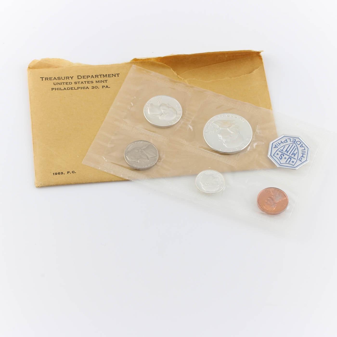 1963 U.S. Philadelphia Mint Proof Set