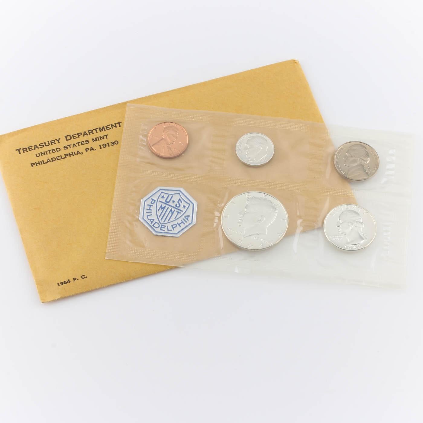 1964 U.S. Philadelphia Mint Proof Set