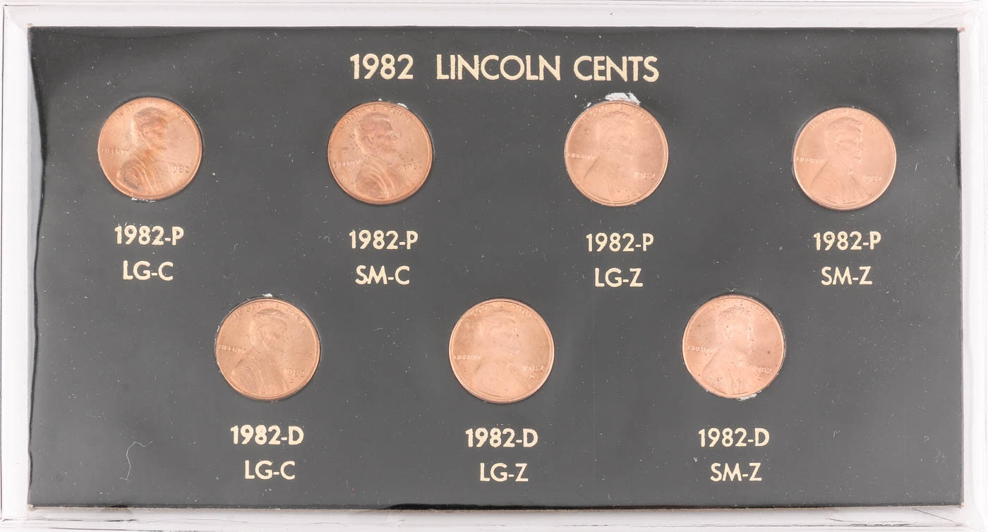 1982 Lincoln Cents Collection