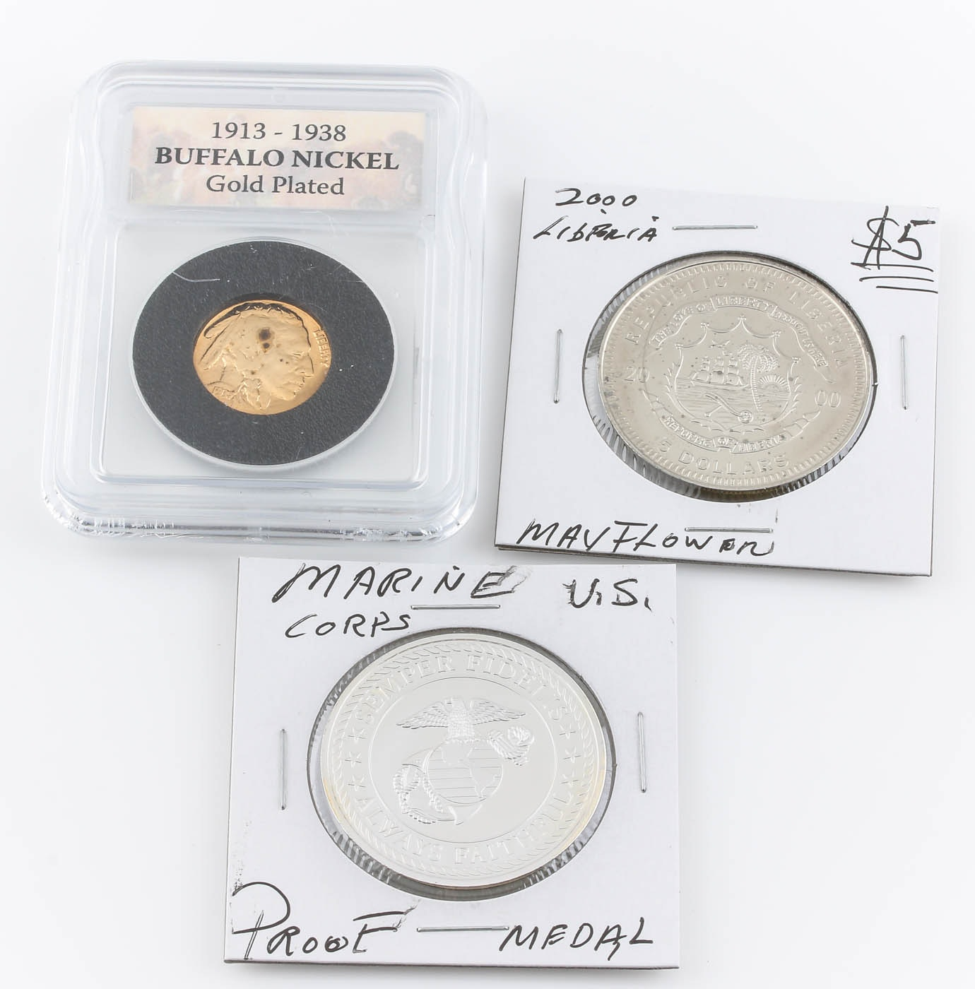 Group of Medals and Coins