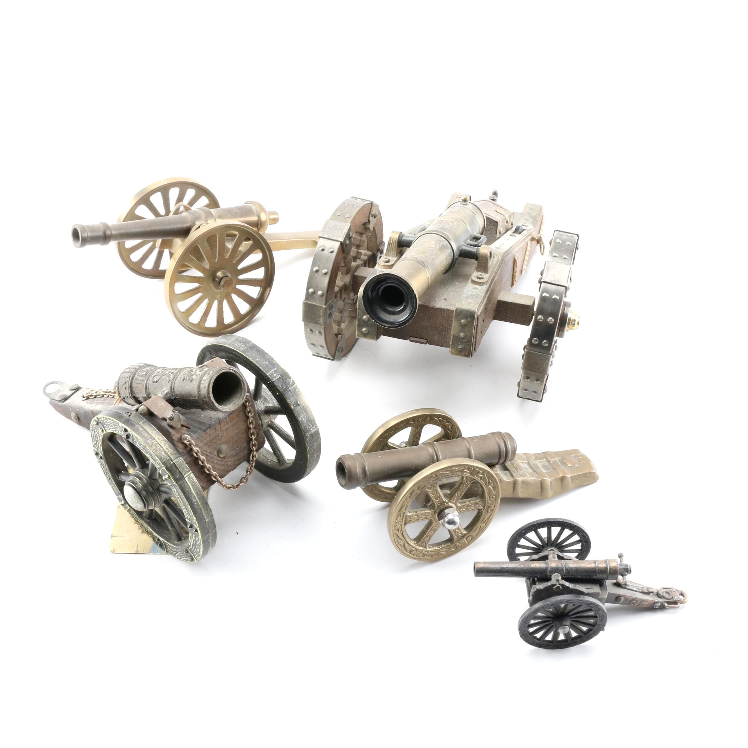 Brass Toy Canons