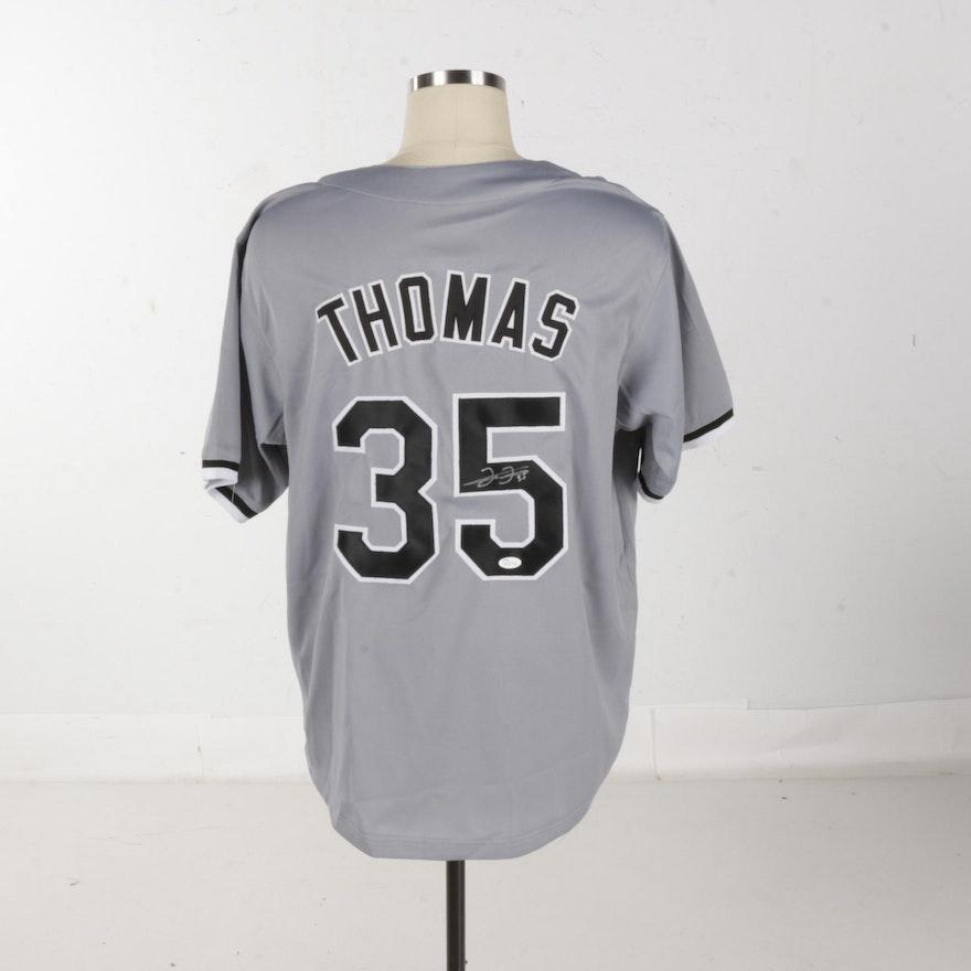 c9f059278 Frank Thomas Autographed White Sox Jersey - JSA COA   EBTH