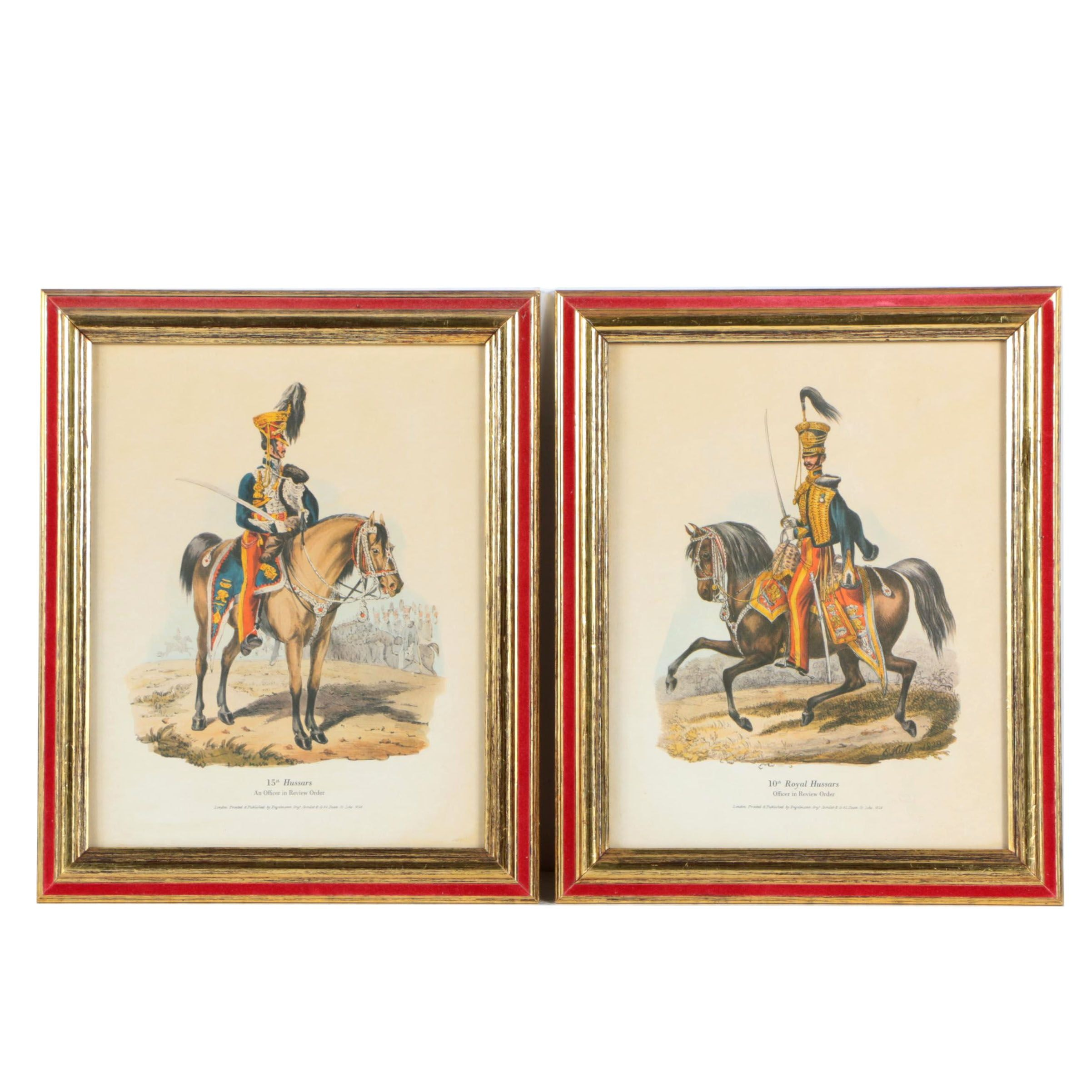 Pair of Offset Lithographs on Paper of British Soldiers