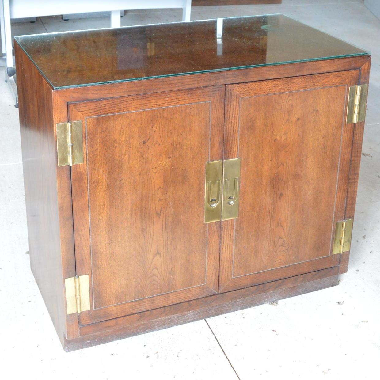 Oak Cabinet by Henredon