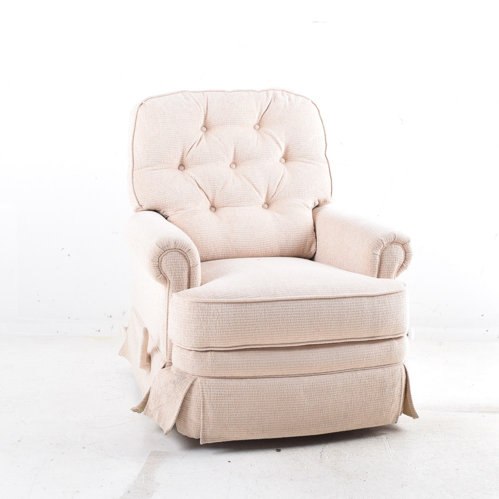 Upholstered Reclining Lounge Chair