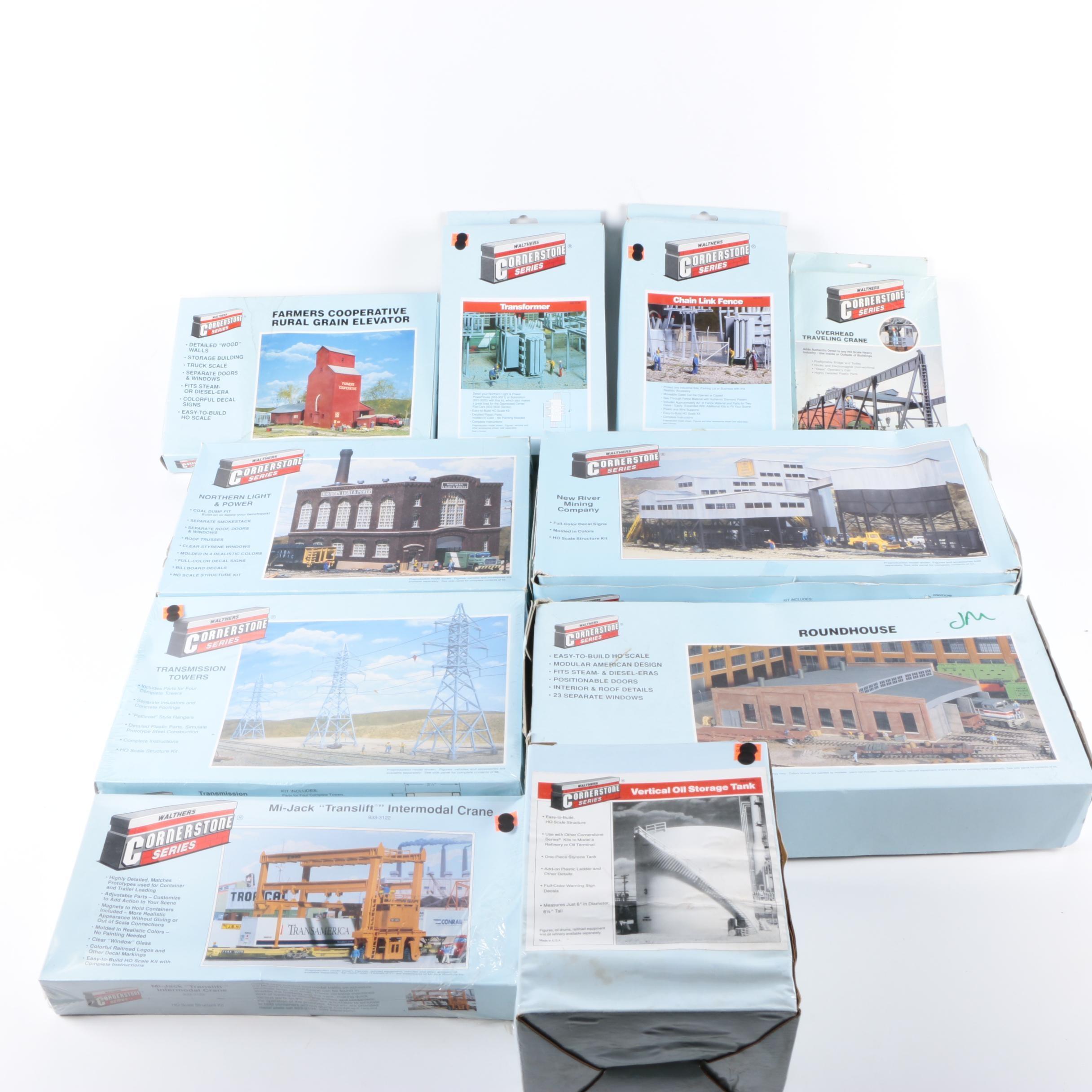 """Cornerstone"" Series Railroad Landscape Kits by Walthers"