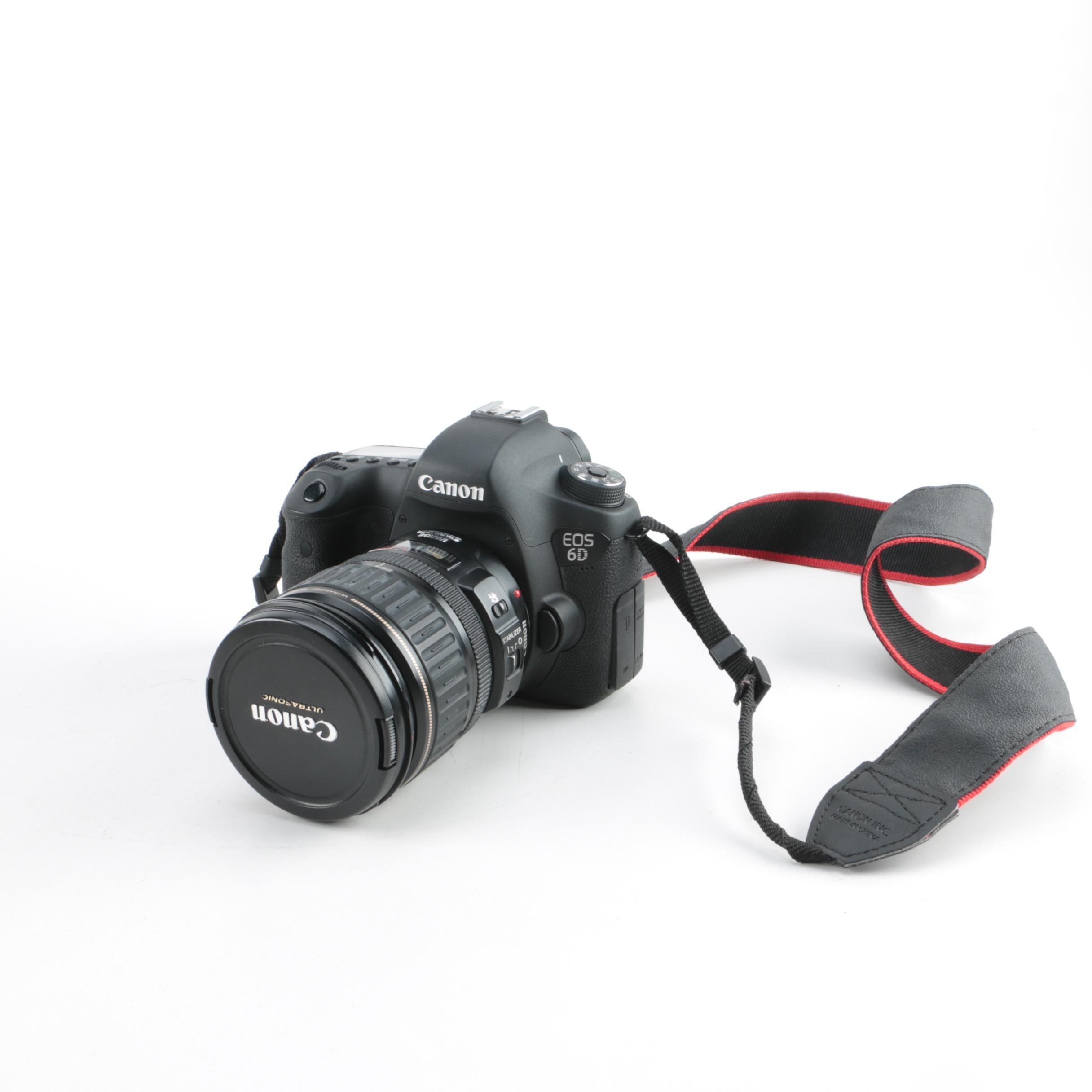 Canon EOS 6D Camera