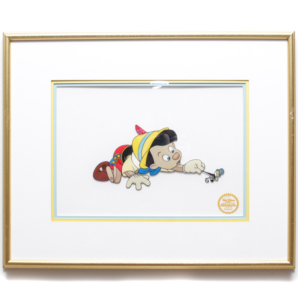 Limited Edition Serigraph of Pinocchio