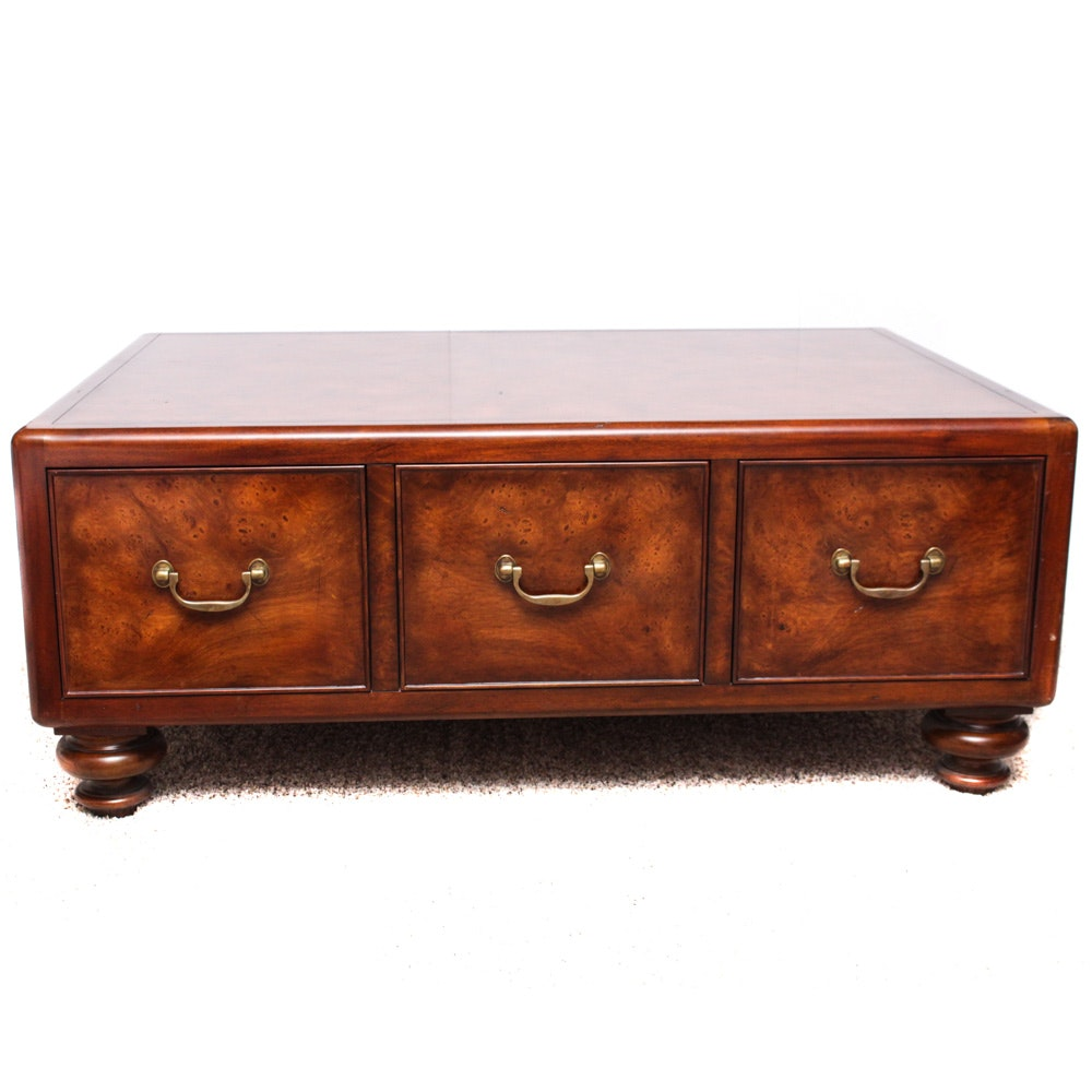 Mahogany Coffee Table By Thomasville