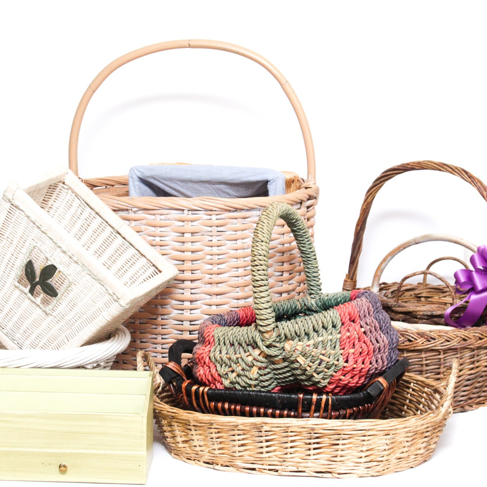 Assorted Home Decor Baskets