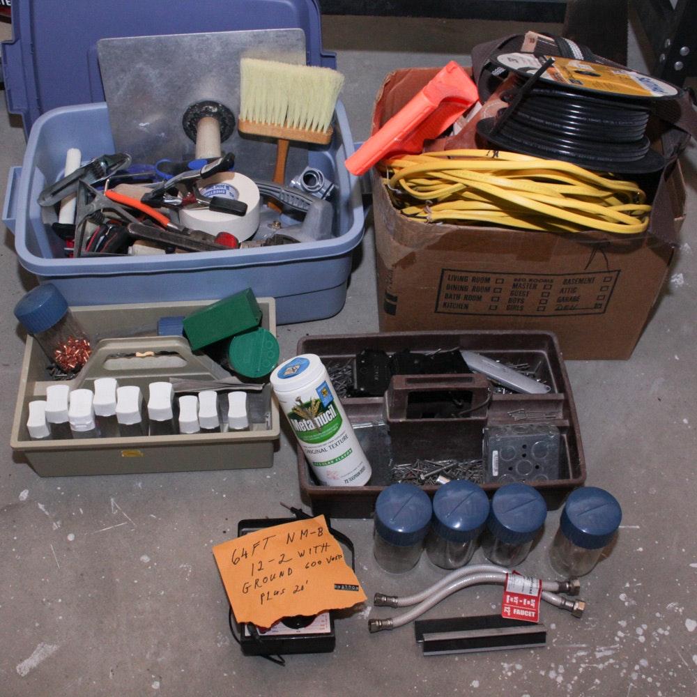 Assorted Home Improvement Supplies