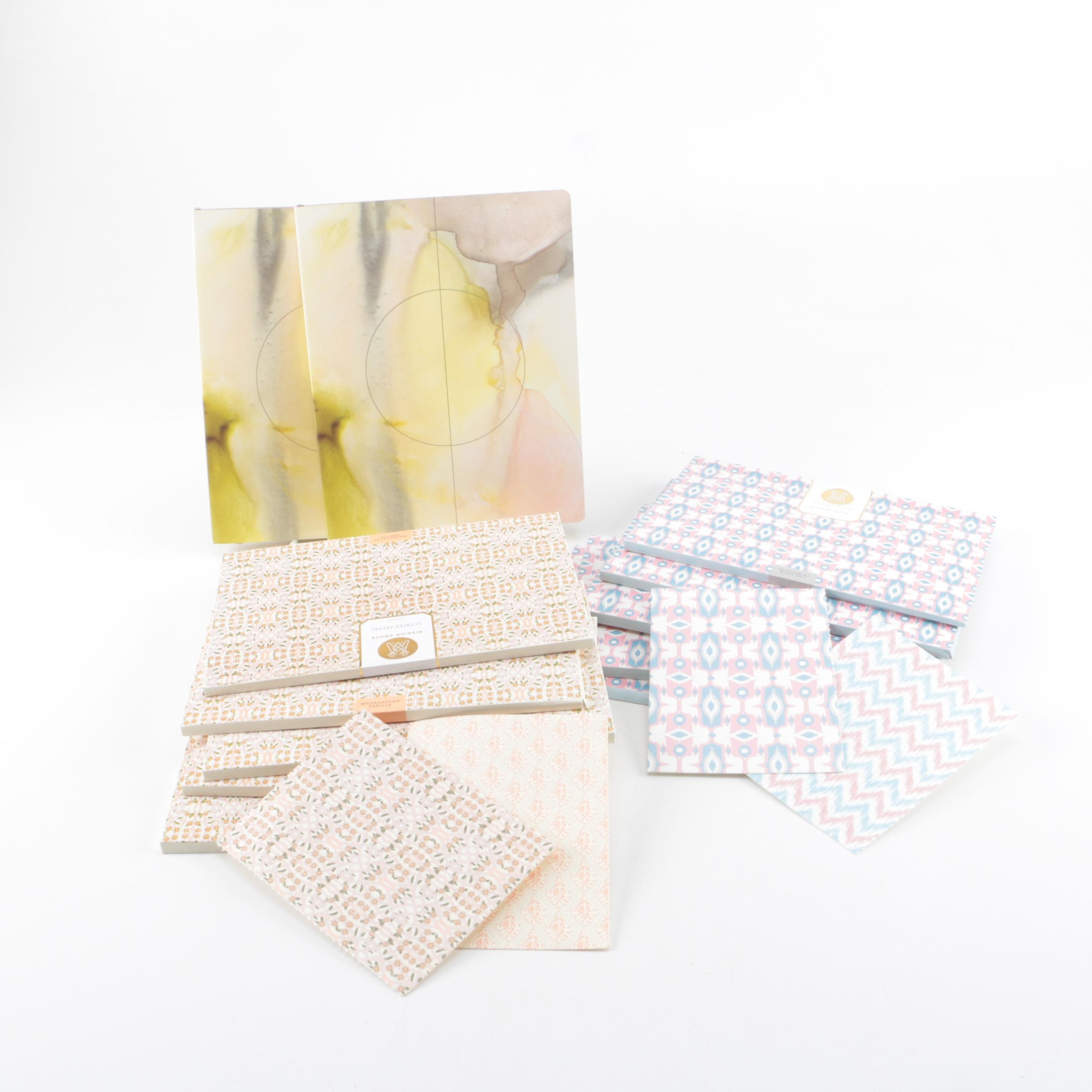 Mission Grove Scented Papers and Journals by Fringe