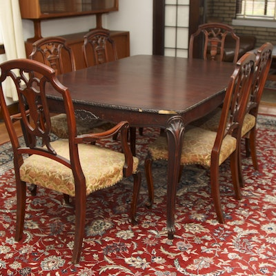 Superb Vintage Dining Furniture Auction Antique Dining Furniture Gmtry Best Dining Table And Chair Ideas Images Gmtryco