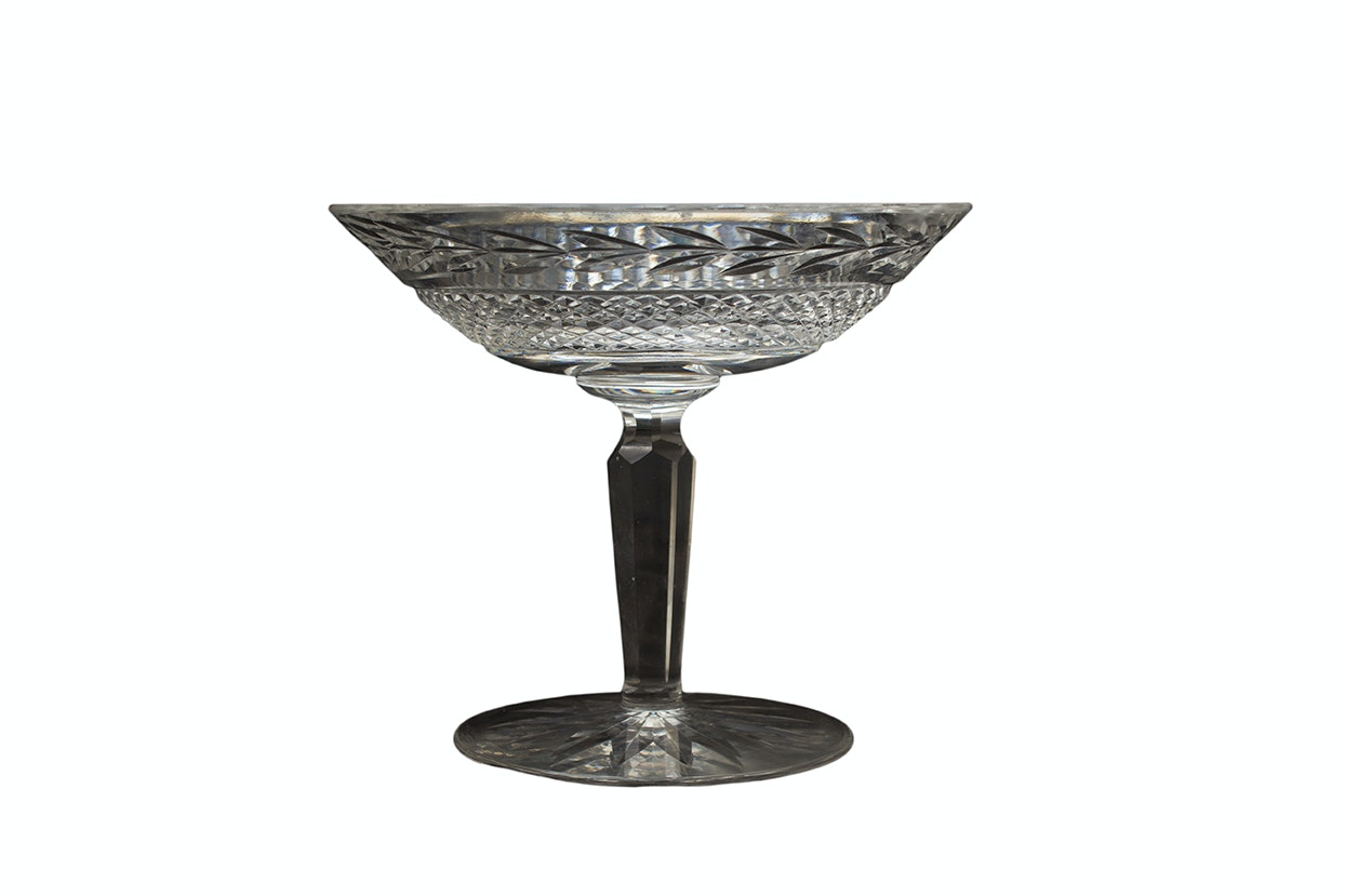 "Waterford Crystal ""Glandore"" Compote"