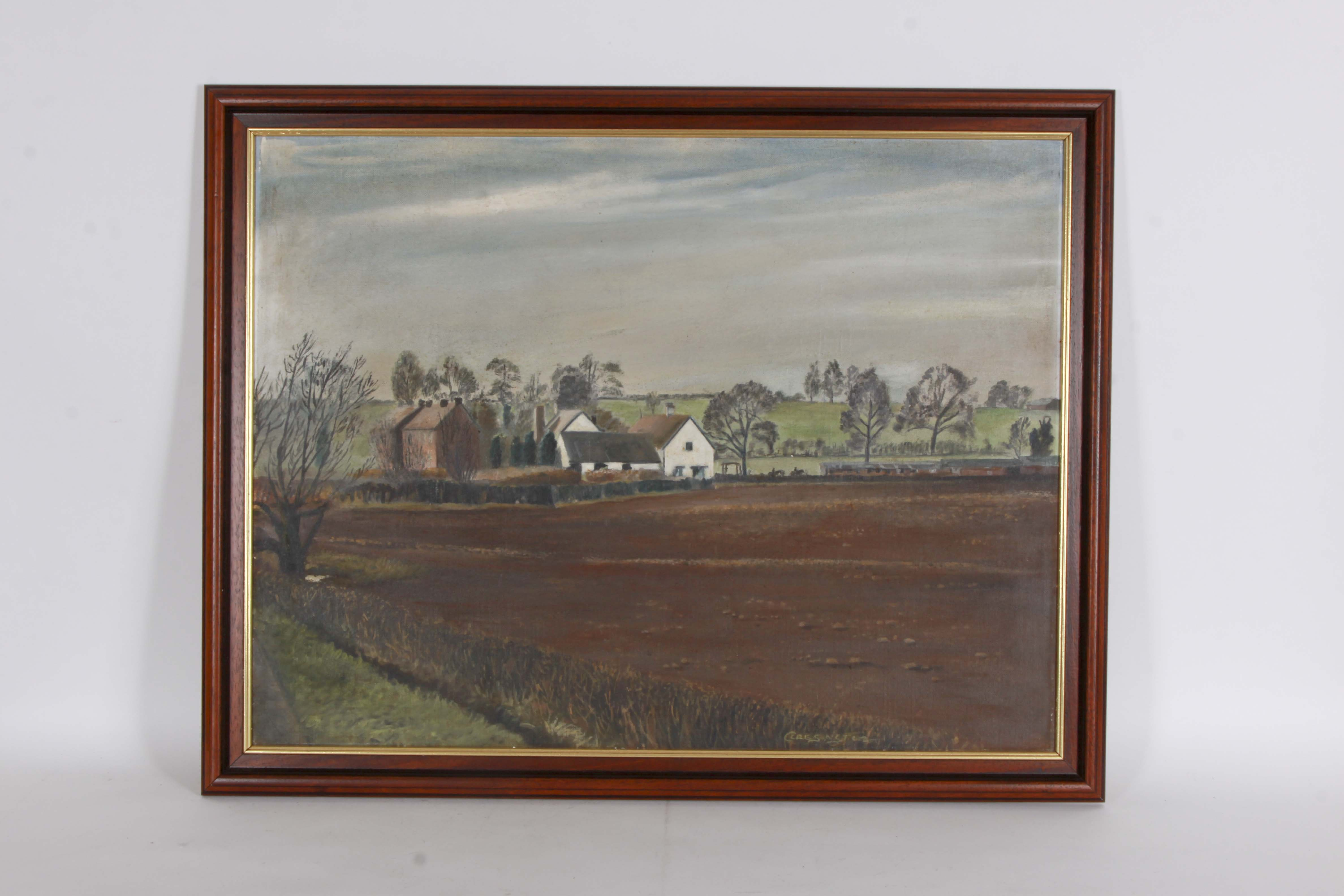 Original Oil Painting of a Landscape on Board