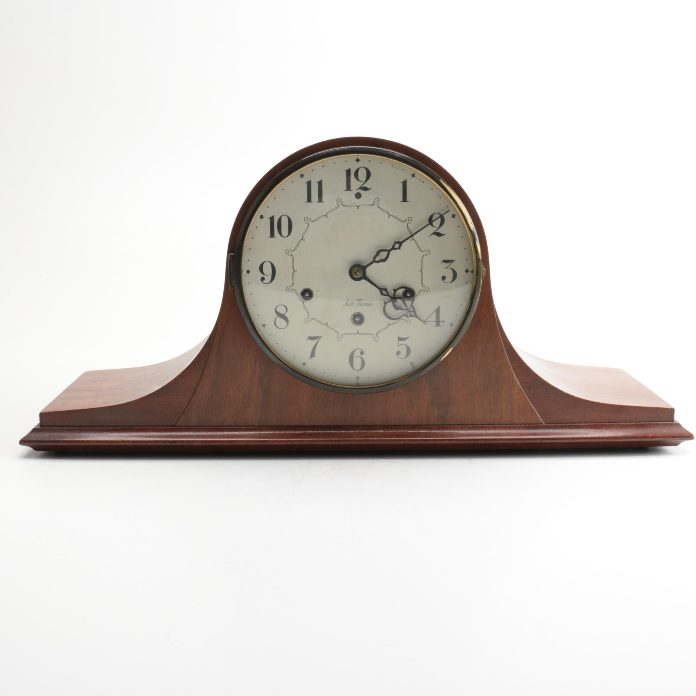 "Vintage Seth Thomas ""Medbury"" 8-Day Chiming Mantel Clock"
