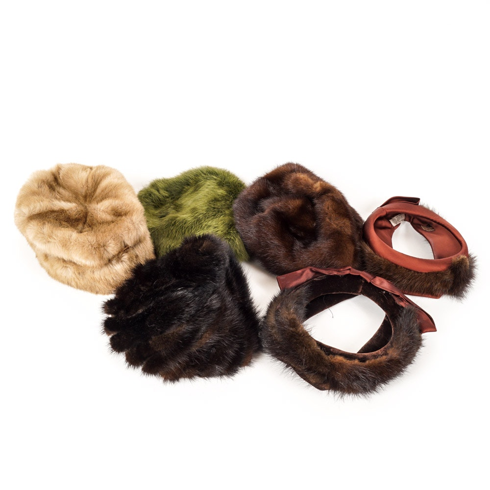 Vintage Fur Hats and Accessories