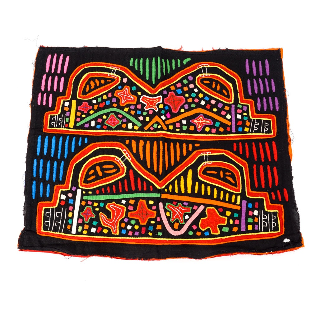 Guna Mola Textile from Panama