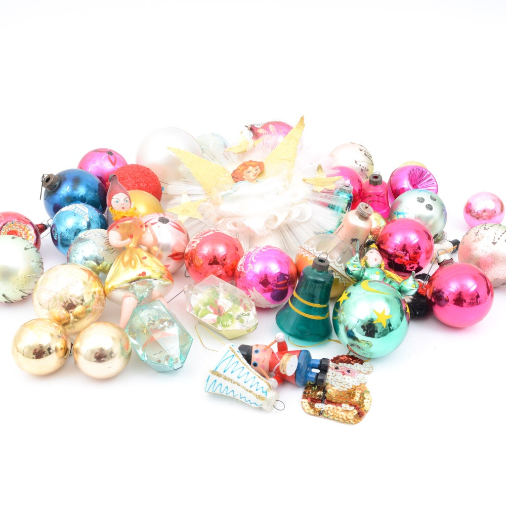 Classic Vintage Ornament Selection