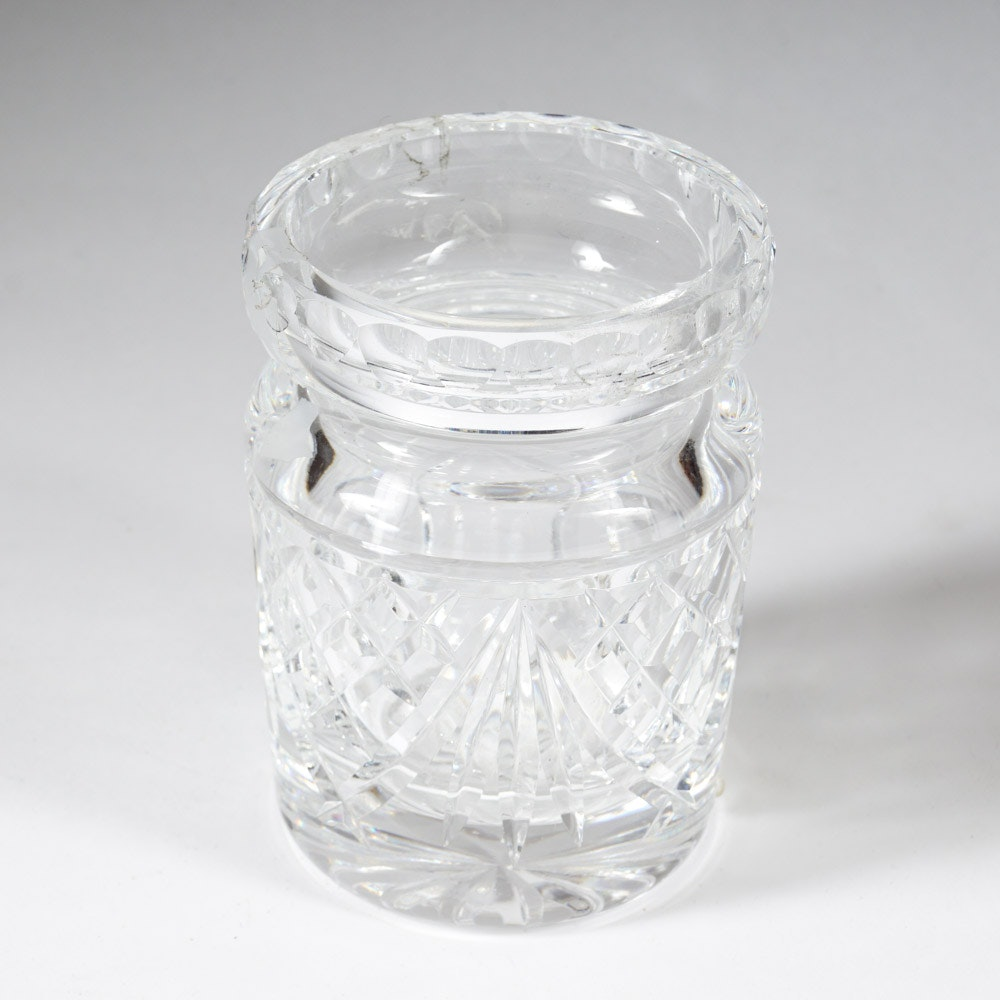 Waterford Crystal Honey Jar