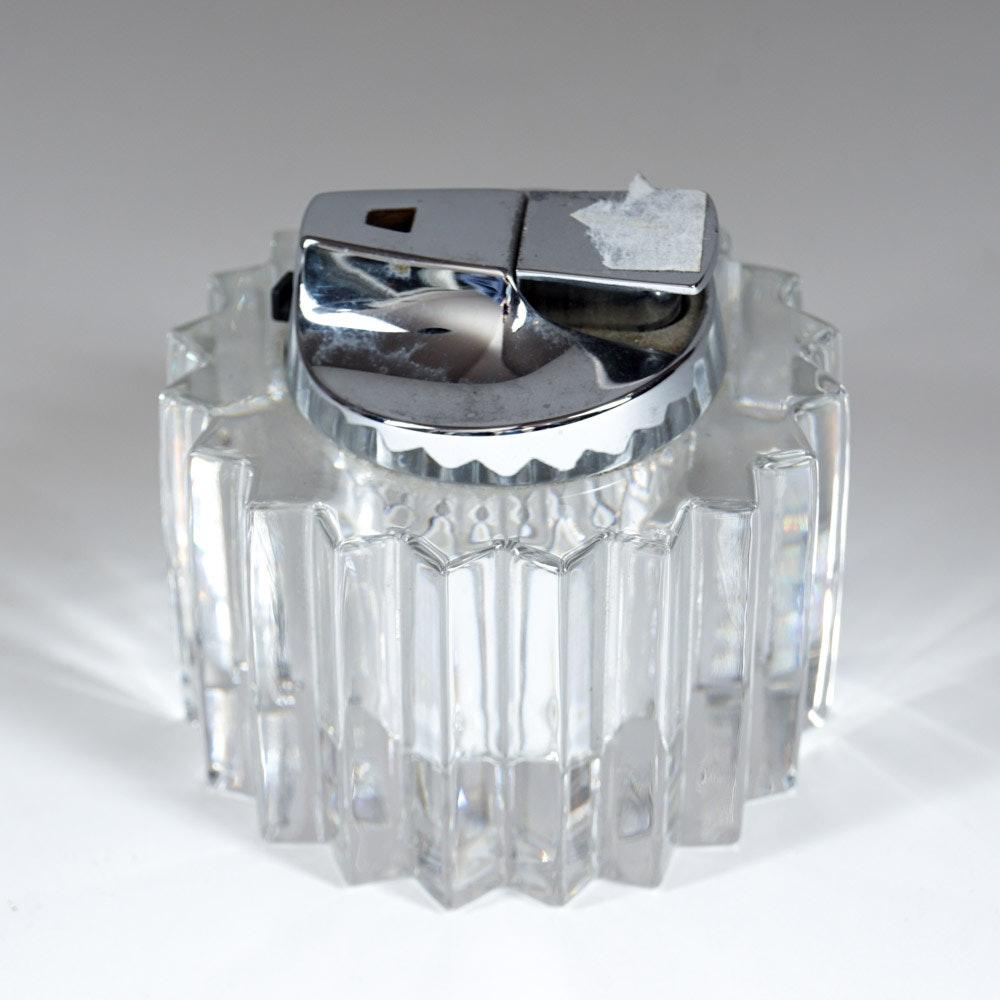 Spode Crystal Table Lighter
