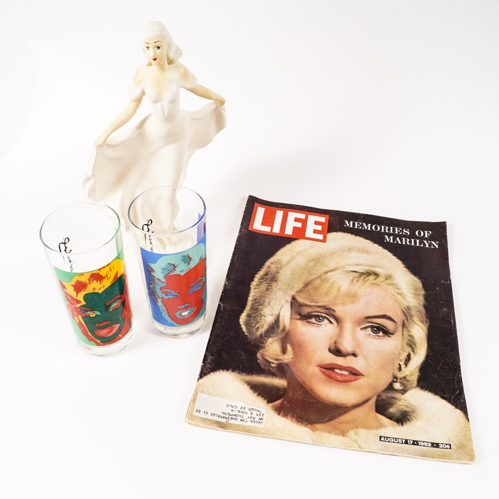 Andy Warhol's Marilyn Monroe Tumblers and Other Collectibles