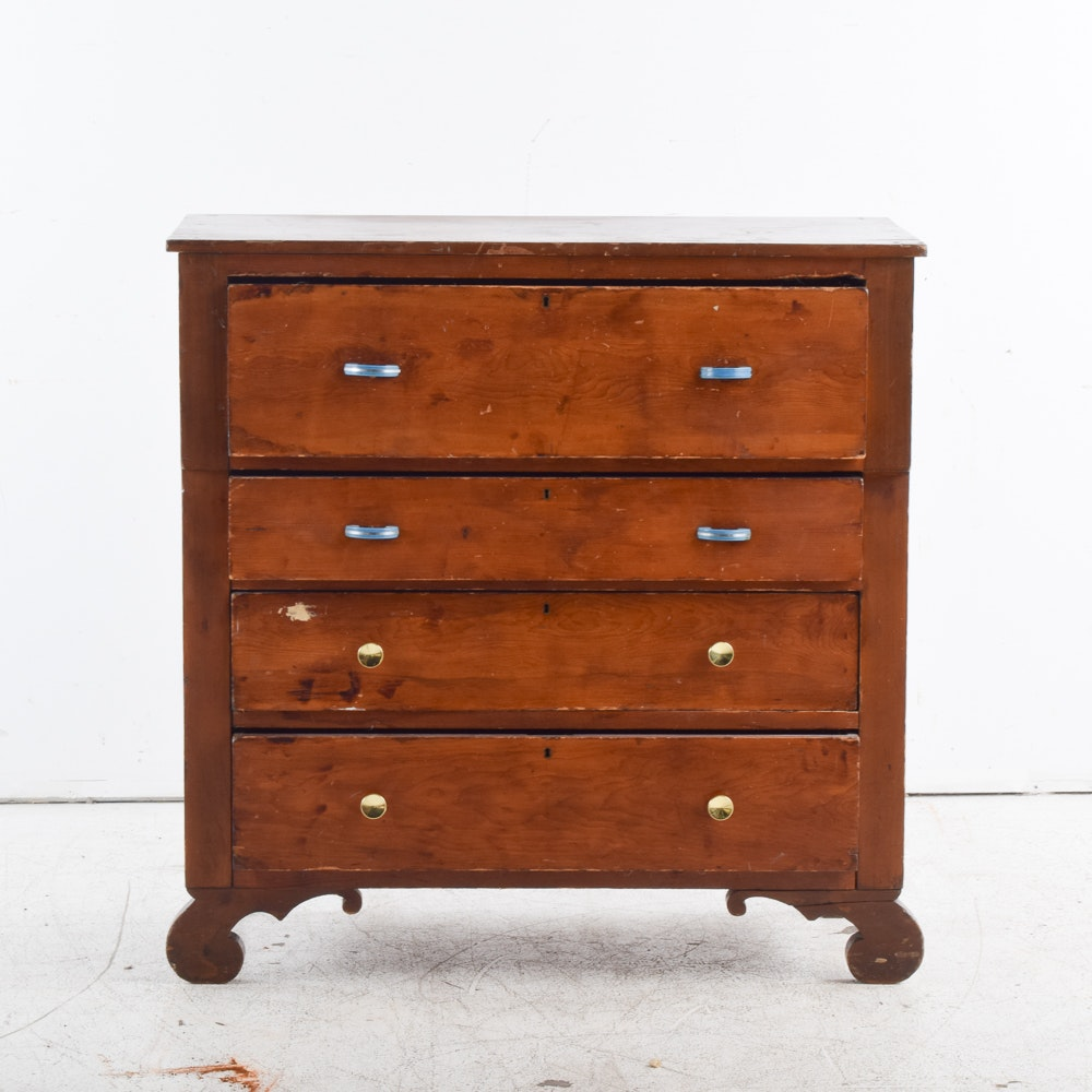 Antique Cherry Chest of Drawers