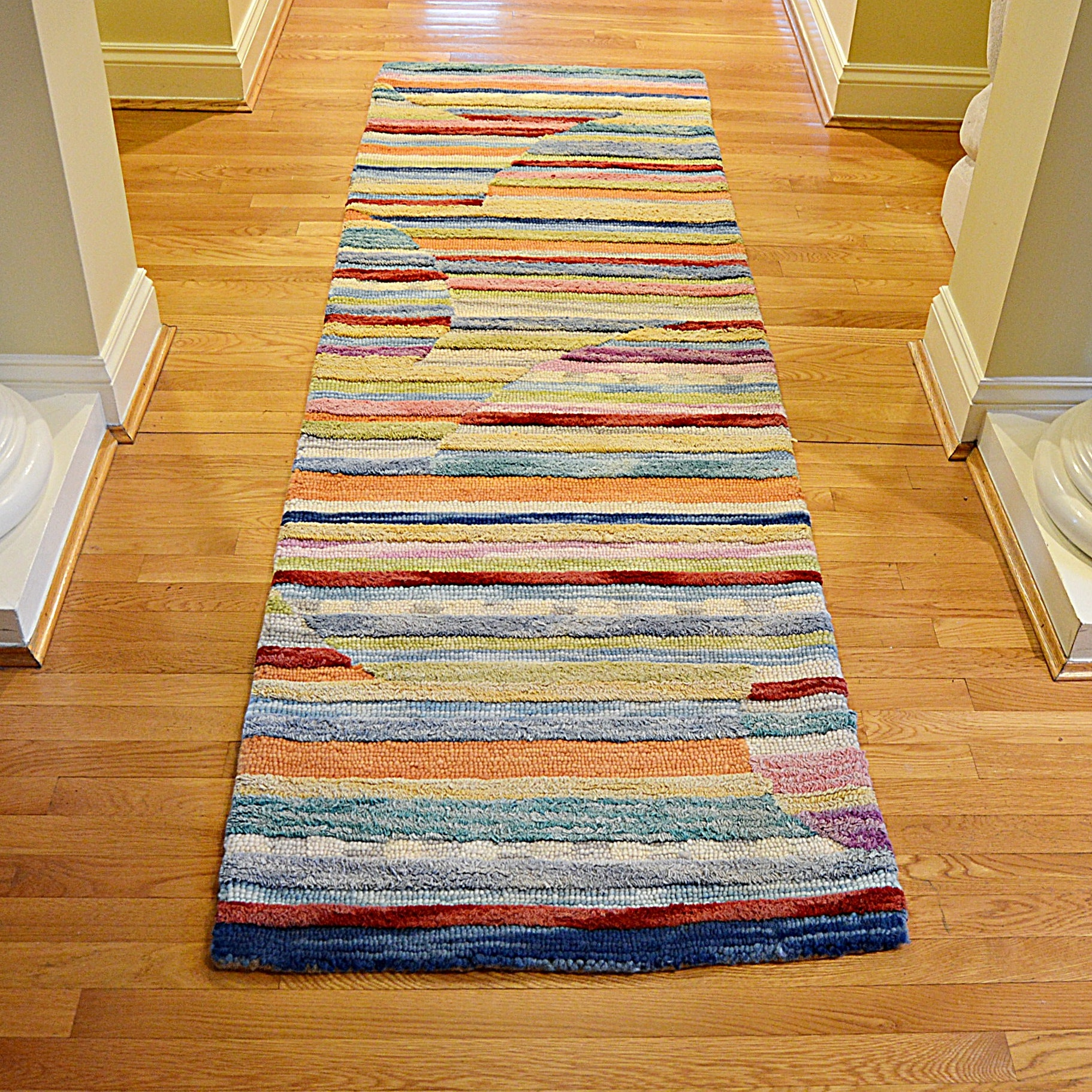 Hand Tufted Indian Wool Area Rug from Frontgate