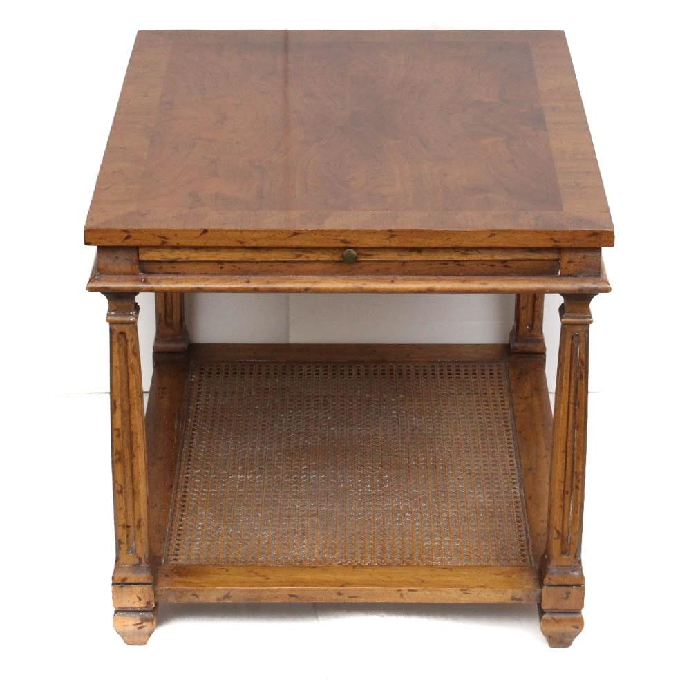 Vintage Solid Wood Side Table