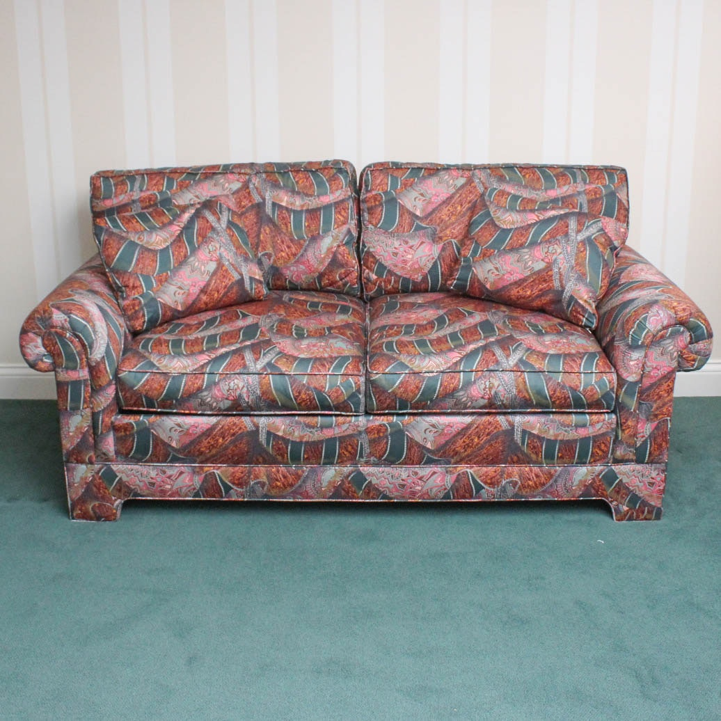 Vintage Twin Size Sleeper Sofa