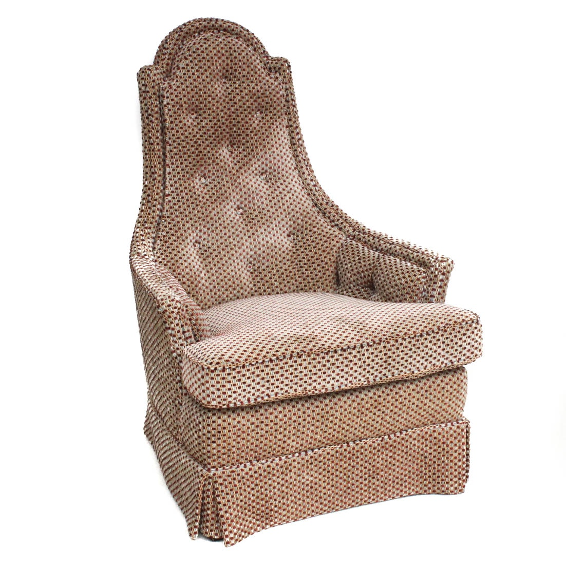 Vintage Custom Upholstered Accent Chair