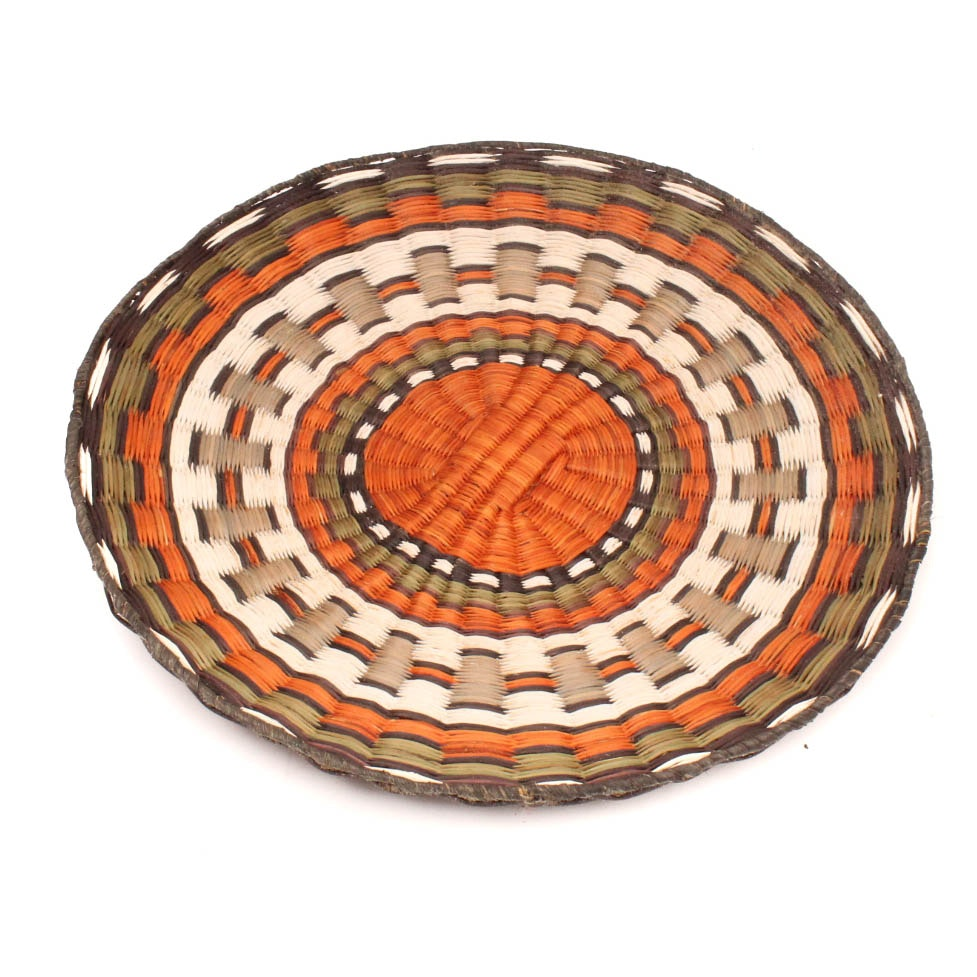 Hopi Third Mesa Woven Wedding Plaque
