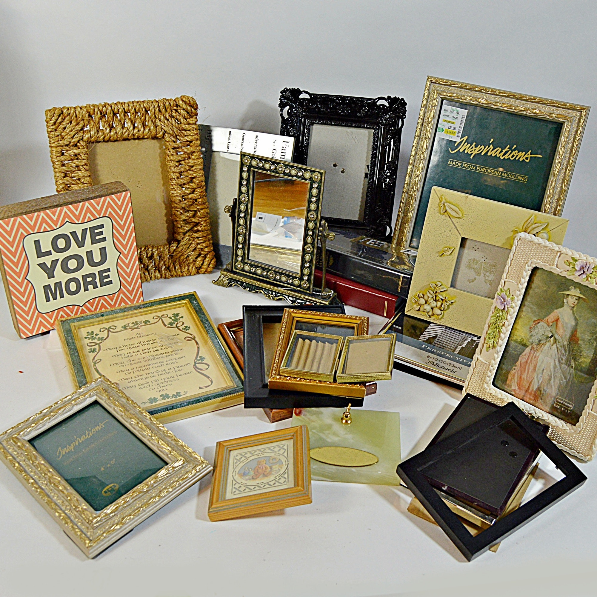 Picture Frame Collection along with Decorative Art