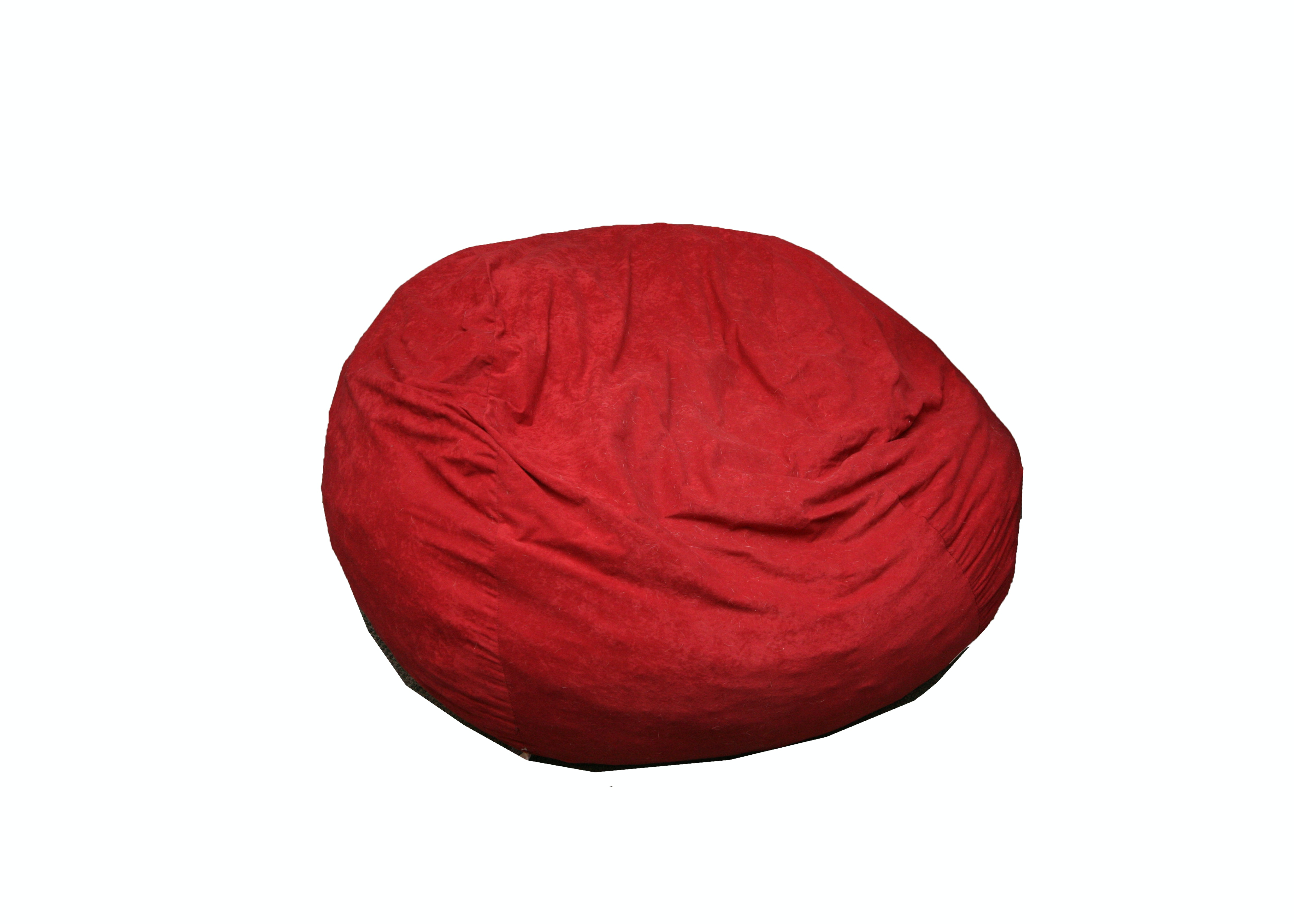 Red Fuf Chair