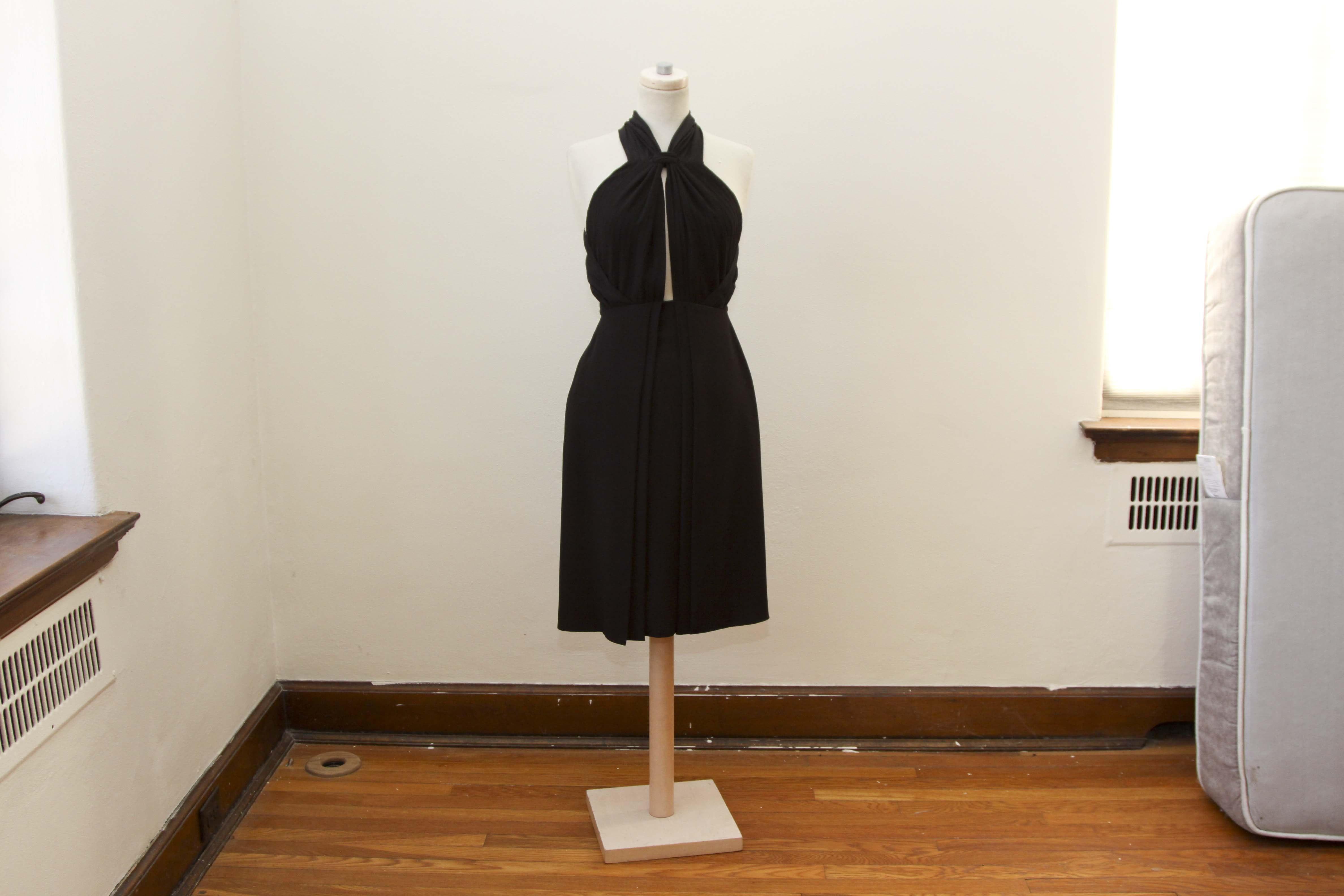 Gucci Black Sleeveless Dress