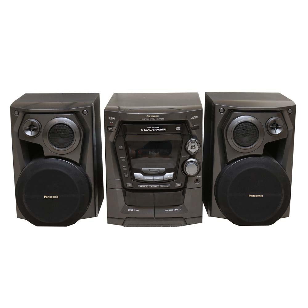 Panasonic SA-AK300 Stereo System
