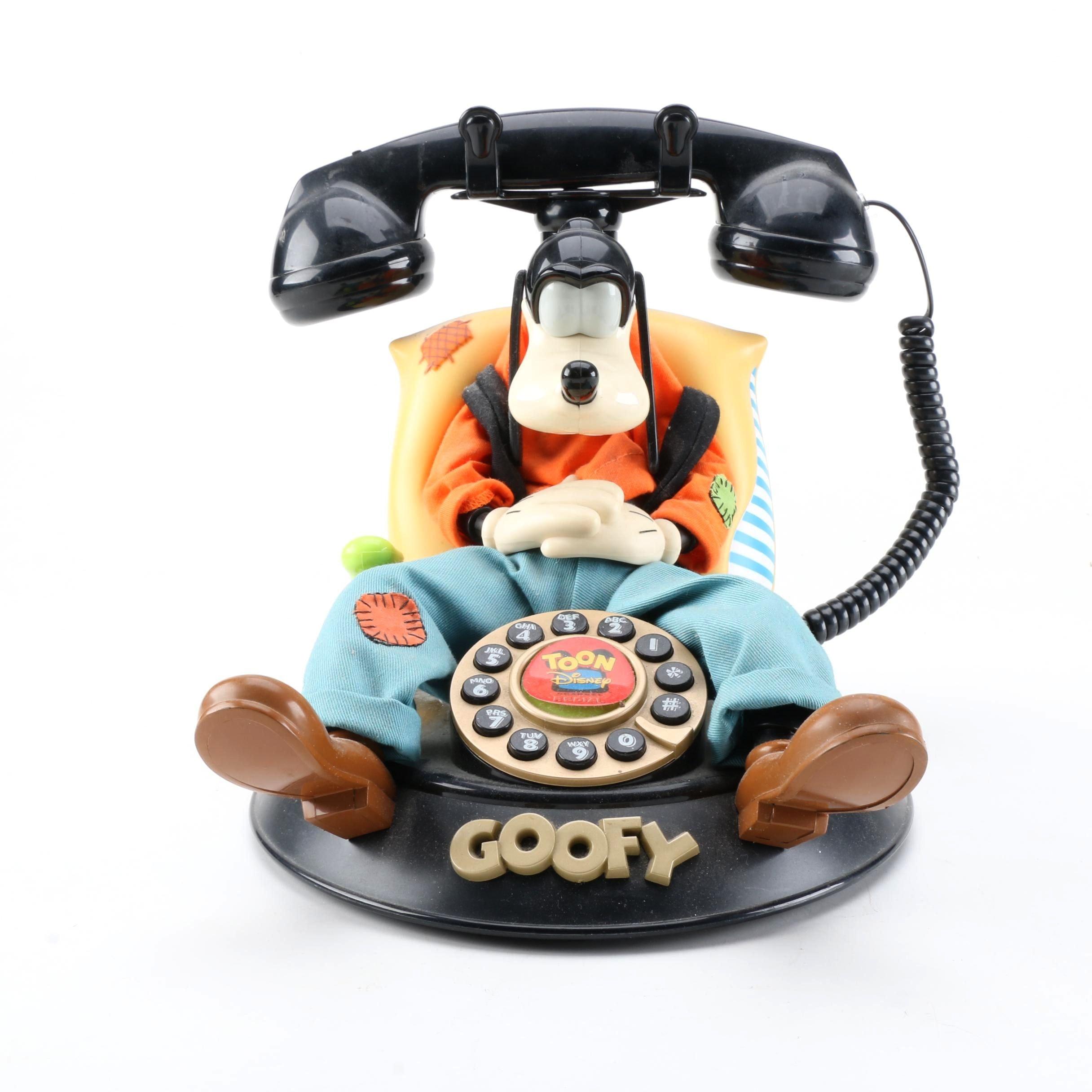 Disney's Goofy Animated Telephone by Telemania