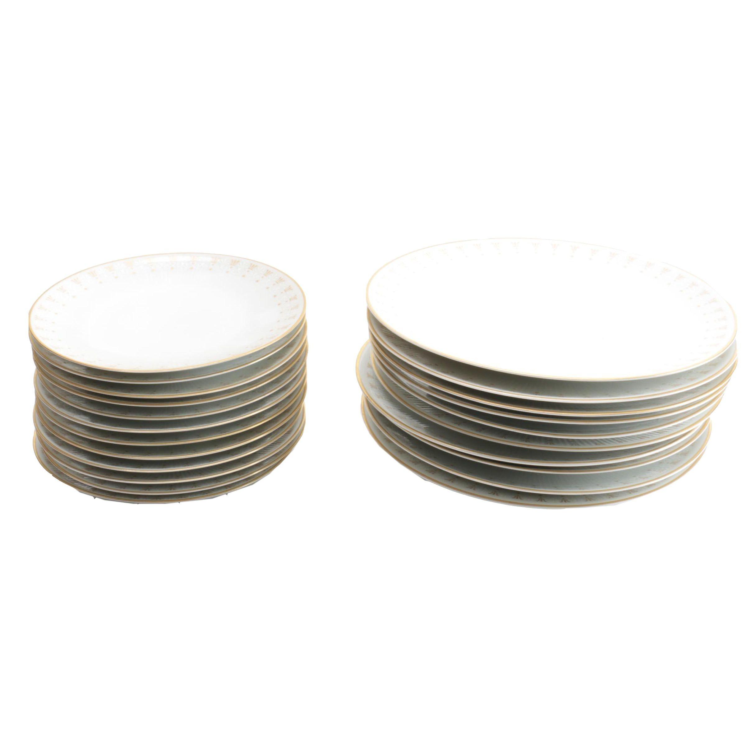 "Mitterteich ""Crown Royale"" Porcelain Tableware"