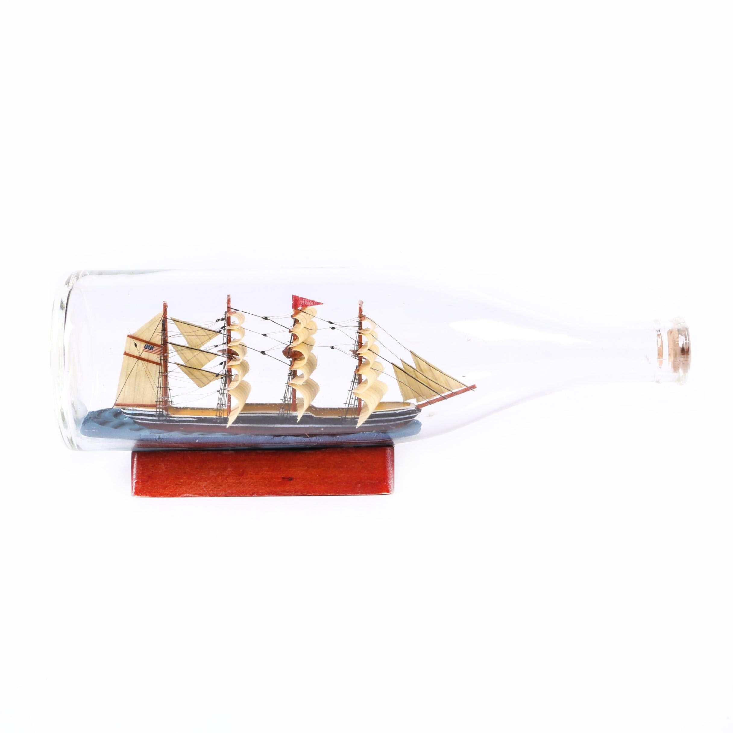 Clipper Ship in a Bottle