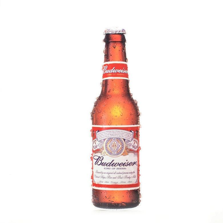 """Budweiser """"Bottle"""" Sign"""