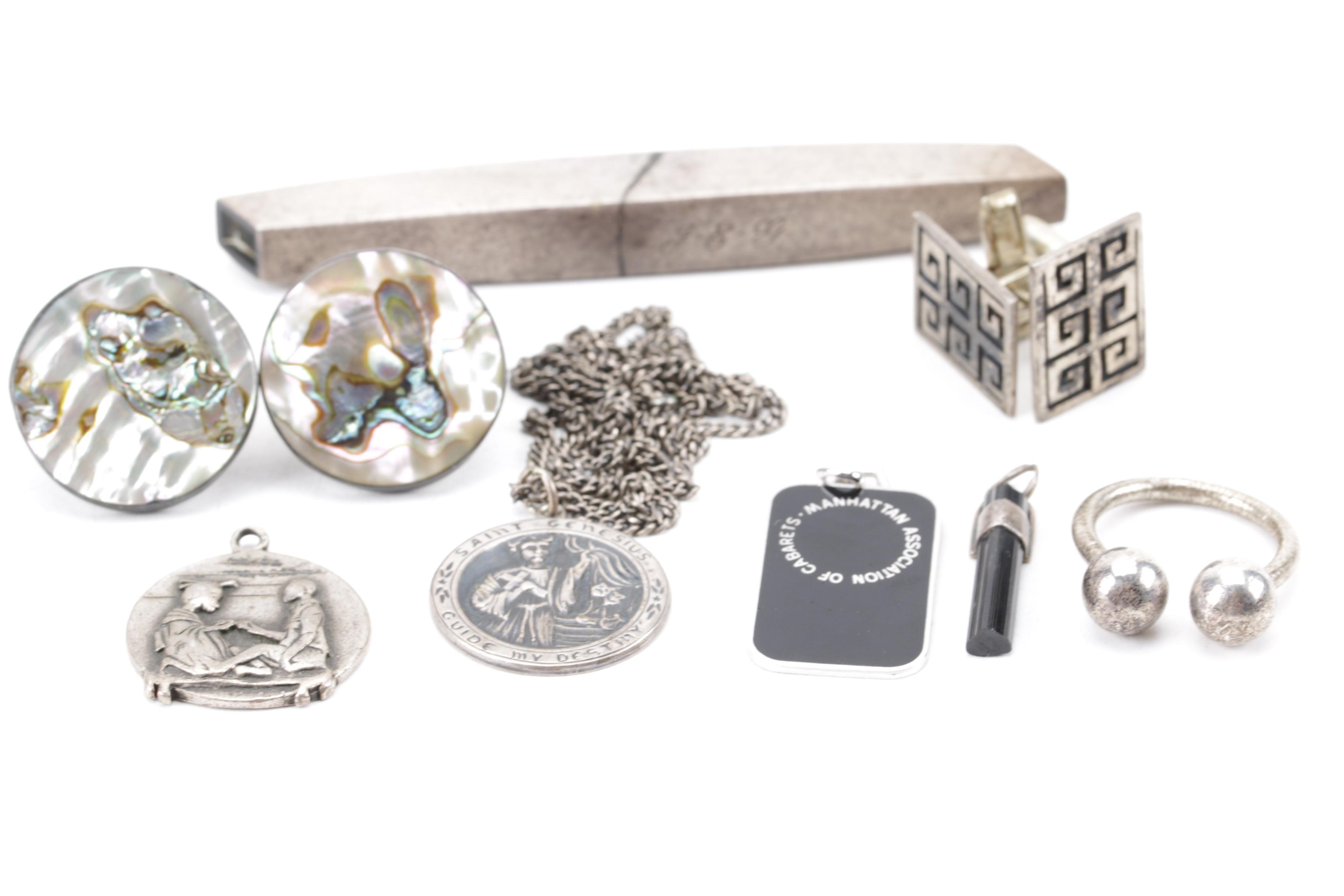 Sterling Silver Jewelry and Accessory Assortment