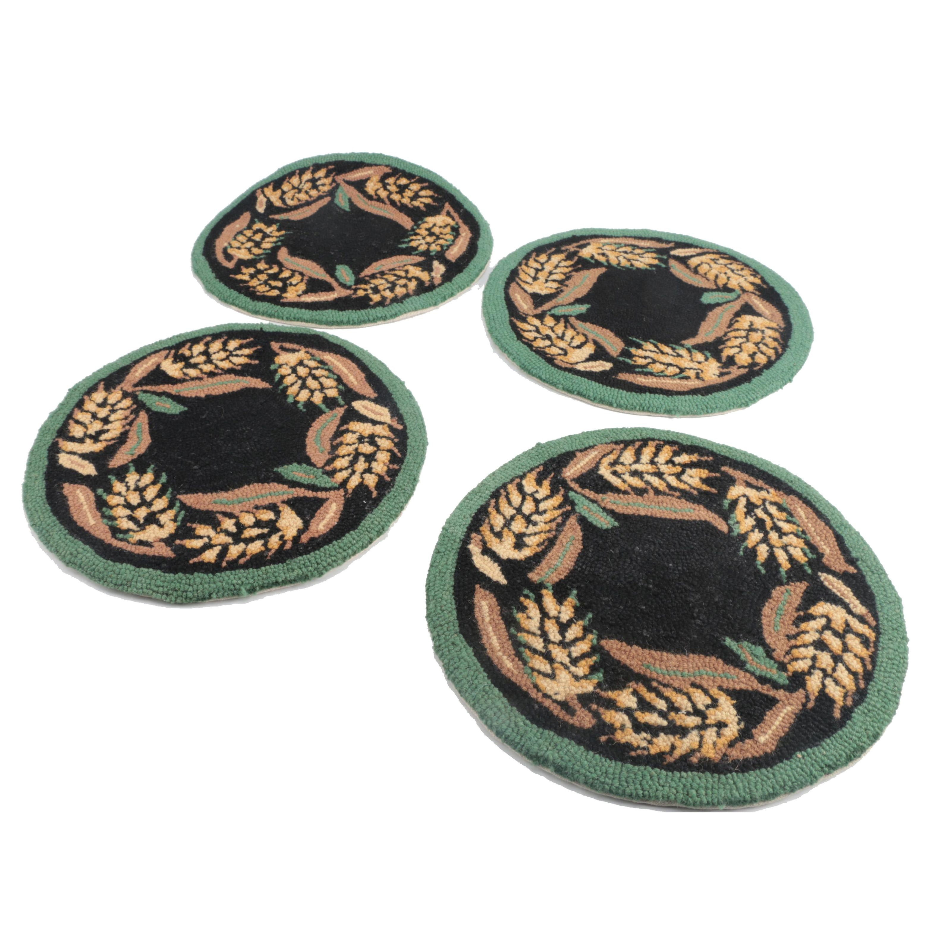 Plow & Hearth Needlepoint Chairpads