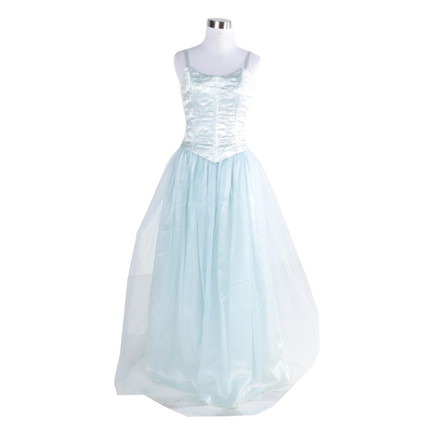 086b3d61053 Vintage Jessica McClintock Gunne Sax Prom Dress