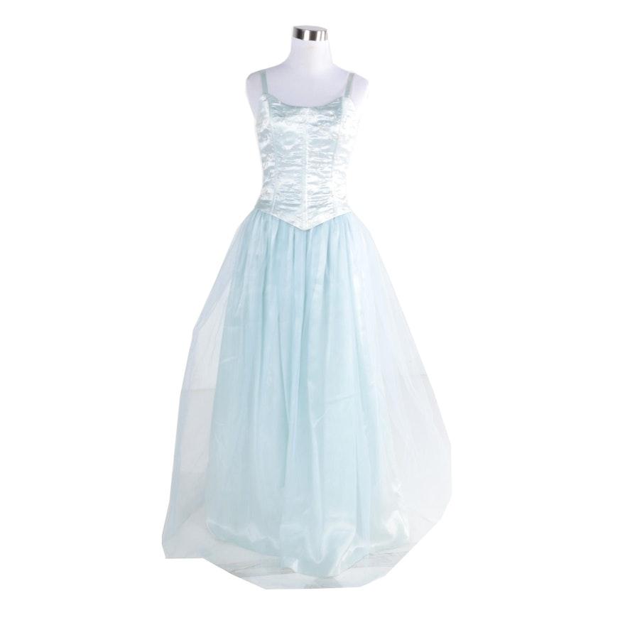 Vintage Jessica McClintock Gunne Sax Prom Dress : EBTH