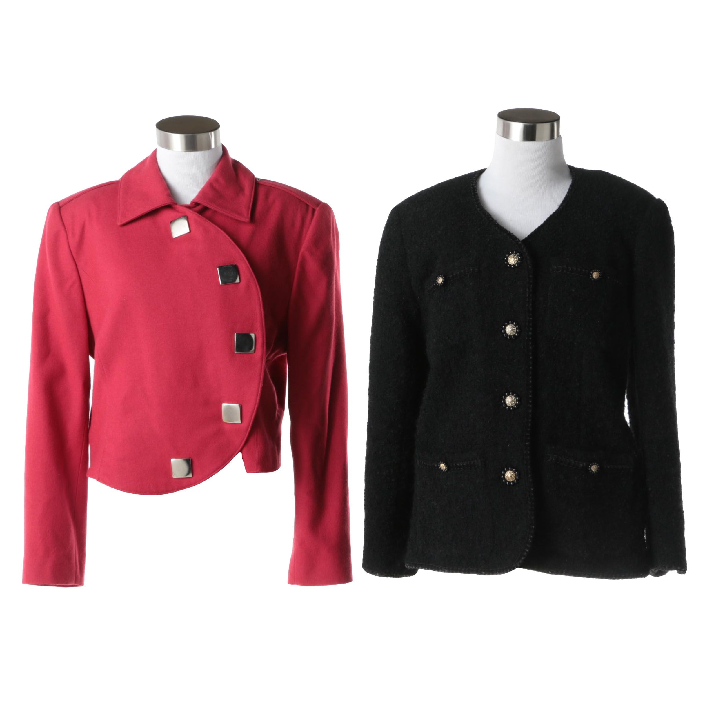 Woman's Blazers Including Anna Sui and Paco Rabanne