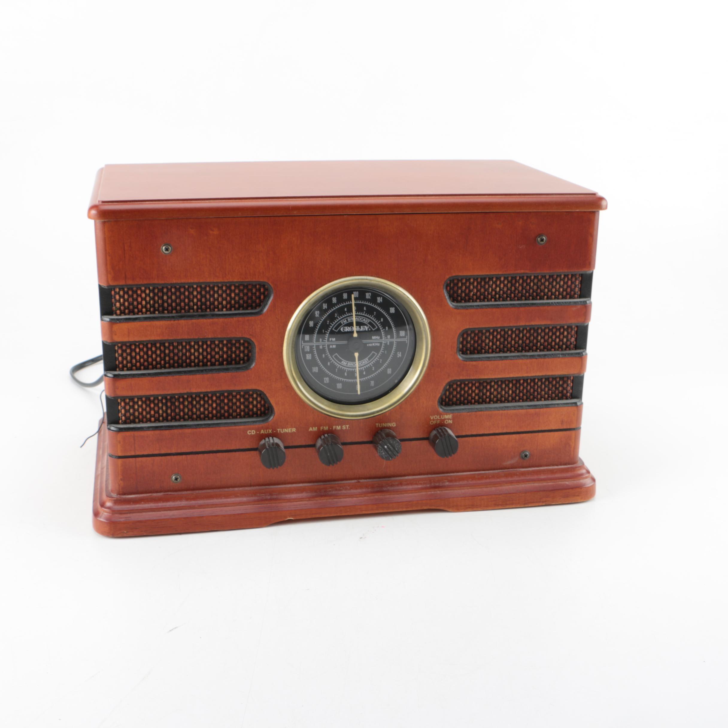 Crosley Vintage Style Radio and CD Player